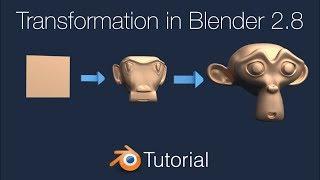 Blender 2.8 Transformation Animation Tutorial