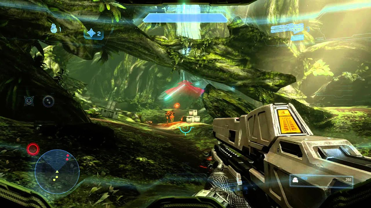 Halo 4 Mcc Hd Full Mission 4 Infinity Teabag Walkthrough