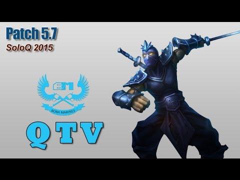 Stream cá nhân QTV - Shen Toplane vs Hecarim [17.4.2015]