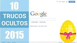 10 TRUCOS OCULTOS DE GOOGLE  | Secretos que Desconocías de Google