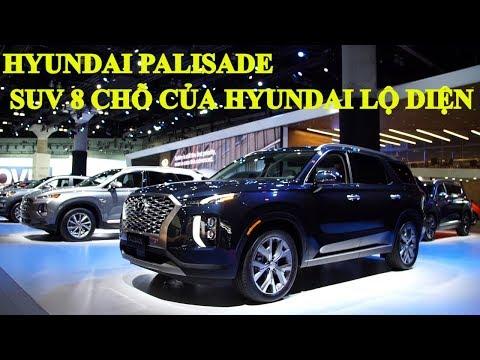 Hyundai Palisade - SUV 8 chỗ của Hyundai chính thức lộ diện