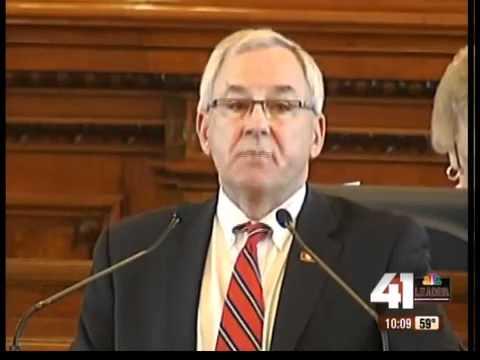 Kansas House Speaker Mike O'Neal retires