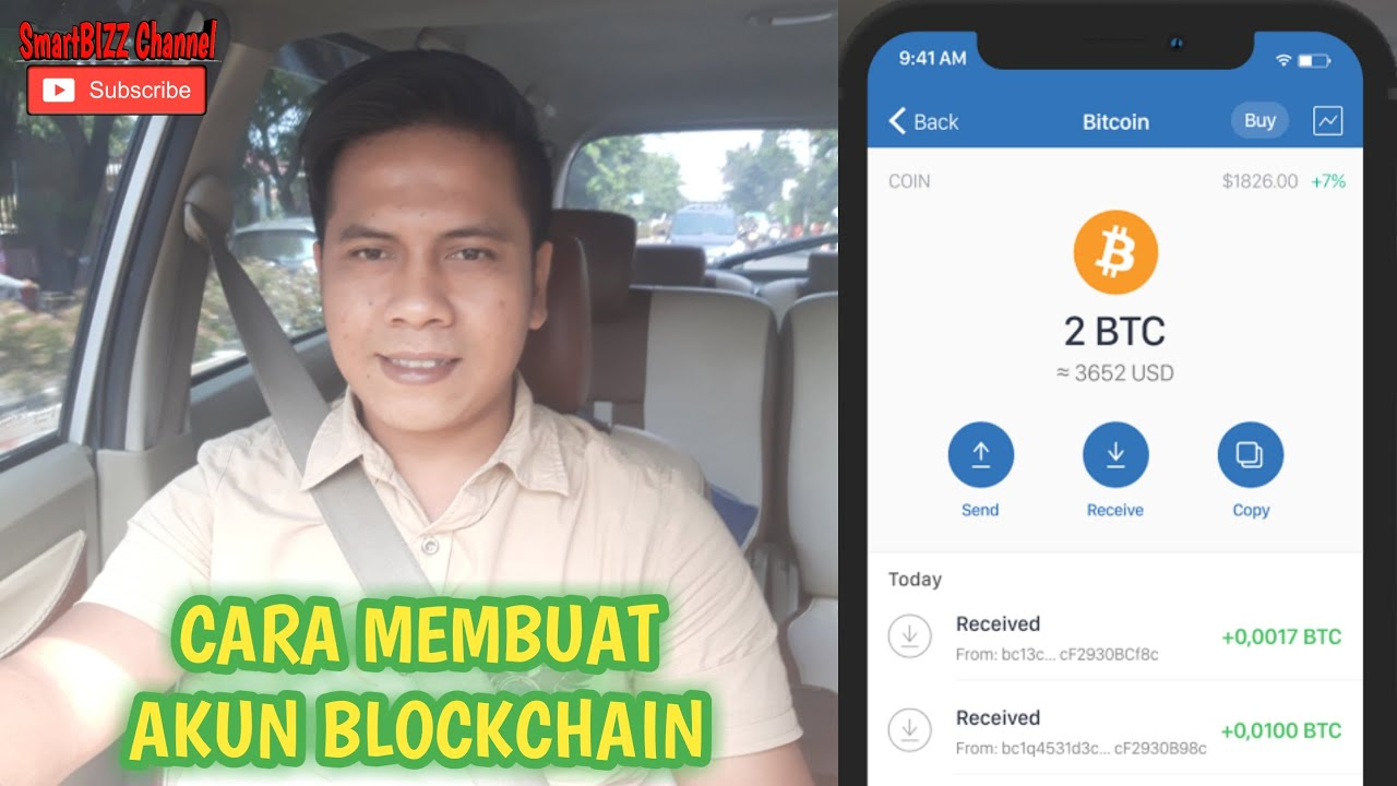 Cara Membuat Akun Blockchain Terbaru 2020