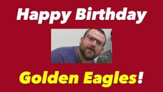 Golden Eagle Report, Tuesday, May 23, 2017