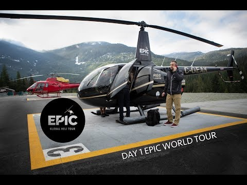 5 HELIS IN FORMATION | EPIC WORLD TOUR DAY 1