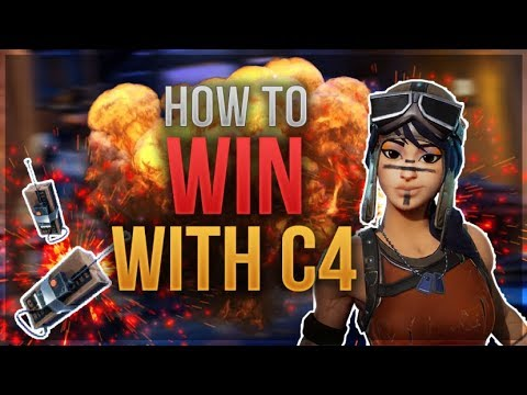 HOW TO WIN | C4 Guide and Tips (Fortnite Battle Royale)
