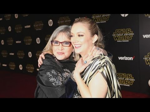 Carrie Fisher Says Daughter Billie Lourd's 'Star Wars' Hairstyle Is a Tribute to Princess Leia