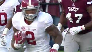 Derrick Henry highlights vs Mississippi State 2015 | Alabama football
