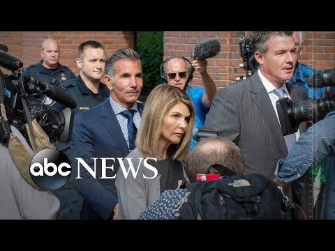 Lori Loughlin back in court for alleged participation in college admissions scheme l ABC News thumbnail