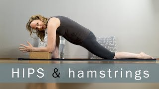 60 min Intermediate Yin Yoga for Hips and Hamstrings | Yoga with Dr. Melissa West 418