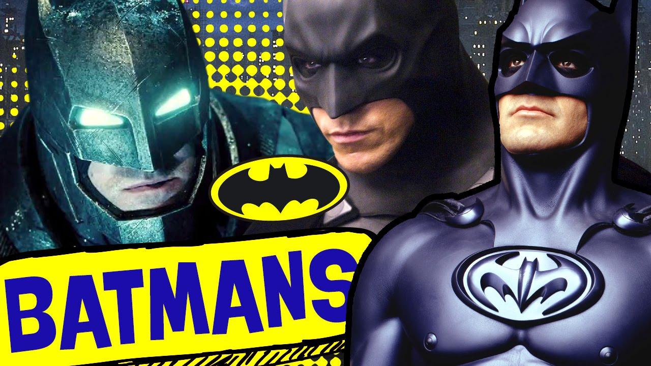 Quantos atores fizeram o Batman?