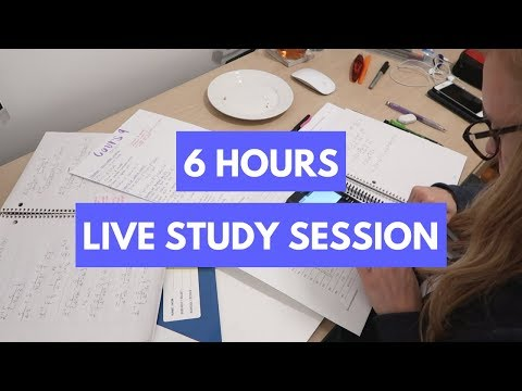 Study With Me - Live Study Session #189