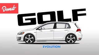 Evolution of the Volkswagen Golf | Donut Media