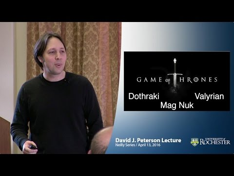 """New Media Linguistics"" by David Peterson from Game of Thrones"