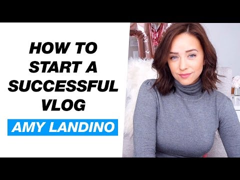 How to Start a Successful Vlog Channel — Amy Landino Interview
