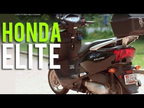 Honda Elite 110: Best value in scooters