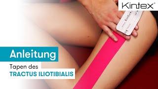 Kintex® Anleitung zum Kinesiologie Tapen des Tractus Iliotibialis