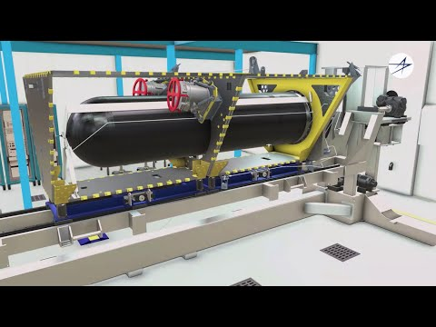Inside the Gateway Center | Satellite Digital Manufacturing in a Factory of the Future