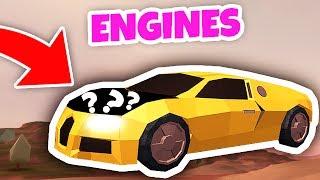 NEUE VEHICLE ENGINE UPDATE (Roblox Jailbreak)