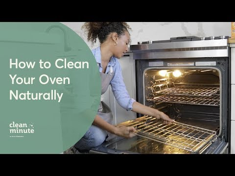 How To Clean Your Oven Naturally | Using Baking Soda & Vinegar