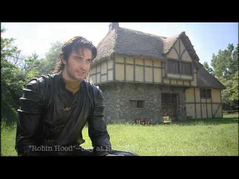 Robin Hood S2  - Behind The Scenes (Gisborne profile)