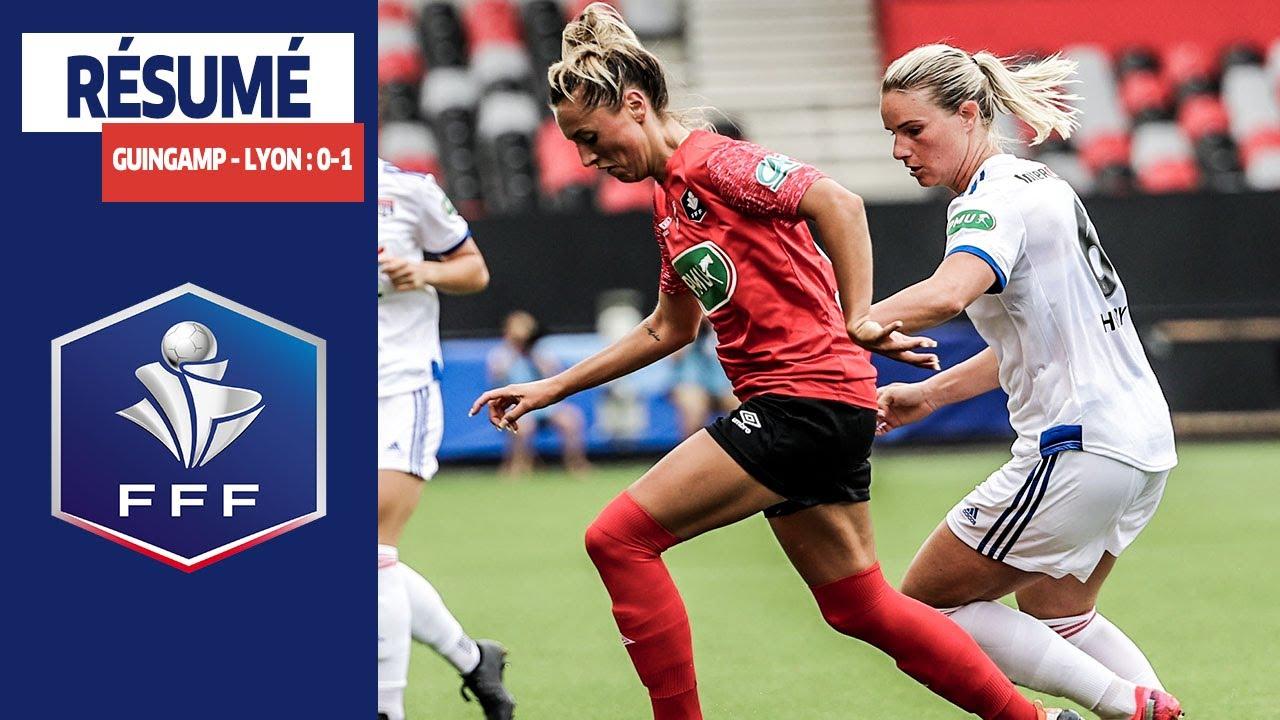 Coupe de France Féminine, 1/2 finales : EA Guingamp - Olympique Lyonnais (0-1), le résumé