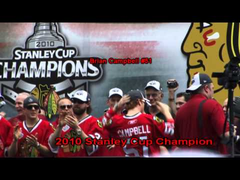Interview with Chicago Blackhawks Player Brian Campbell