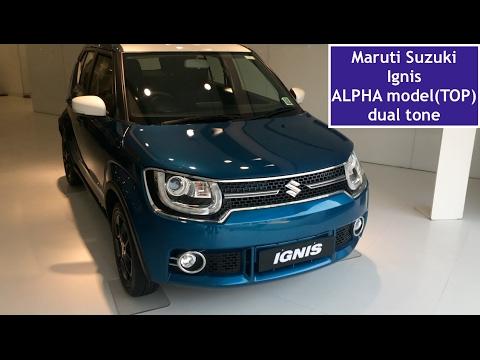maruti-suzuki-ignis-alpha-top-model-review,interior-and-exterior