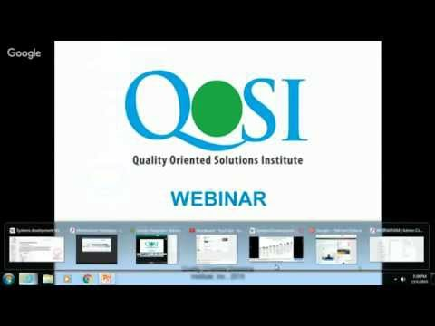 QOSI Training Institute  - Introduction to Software Testing