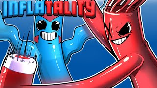 Inflatality - WACKY INFLATABLE TUBE-MAN FIGHTS!!! (Delirious VS Cartoonz)