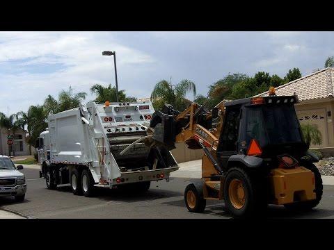 City of Glendale, AZ ⇨ PETERBILT Heil PowerTrak Garbage Truck