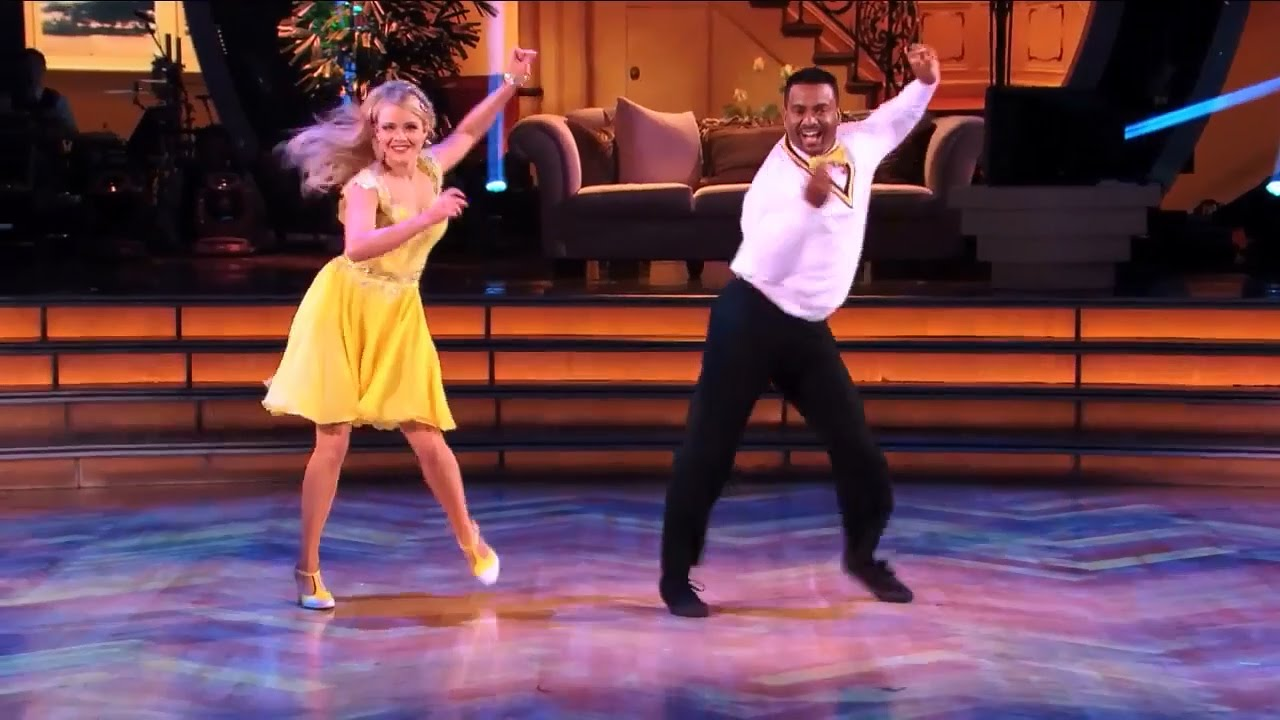 Alfonso Ribeiro Doing The Carlton On Dwts Hd 720p Youtube