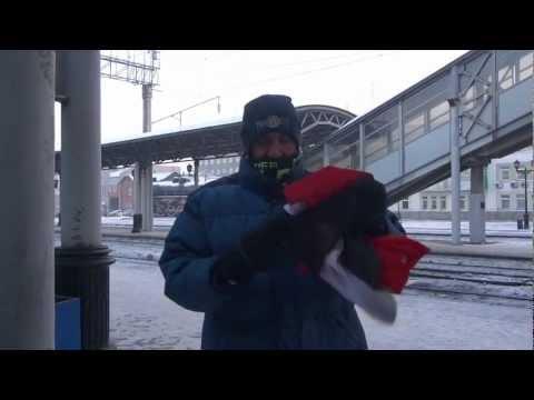 Haggagovic in Siberia حجاجوفيتش في -٤٧ تحت الصفر في سيبيريا