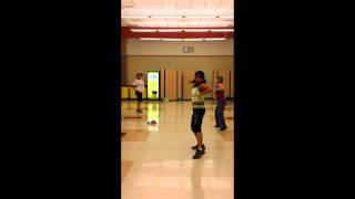 Zumba in Imperial at Frank Wright School