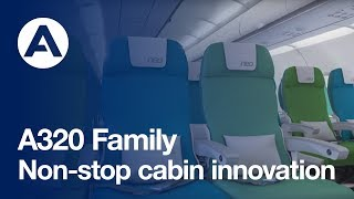 Top 10 Airlines - A320 Family: non-stop cabin innovation