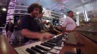 "Carey Frank's ""I Wish You Love"" 'organ squabble' Hammond organ solo"