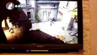tintin gameplay (wii)
