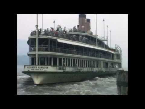 Hudson River Day Line 1967 - West Point to Poughkeepsie