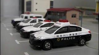 Tomica Police Car Parking Toys Play 토미카 경찰차 주차장 장난감 놀이