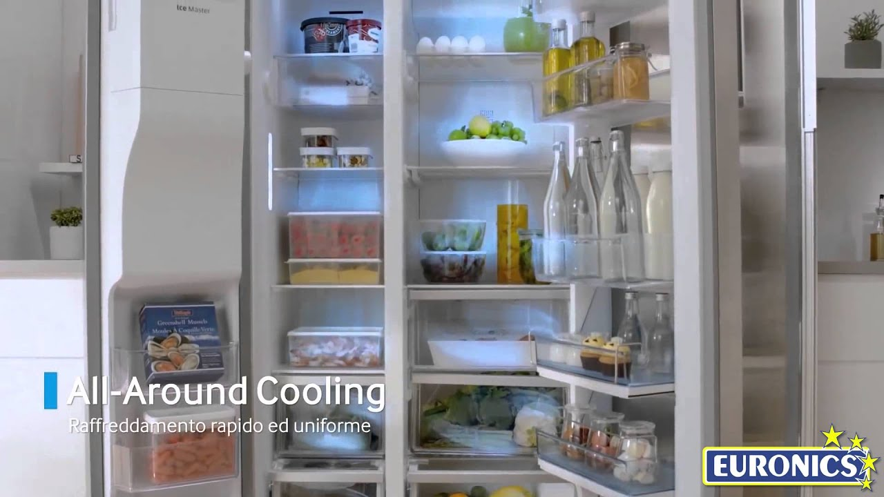 Samsung Frigorifero Serie 9000 Food Showcase (RH 57H9070 7F) - YouTube