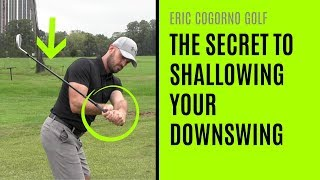 GOLF: The Secret To Shallowing Your Downswing - Wrist Angles