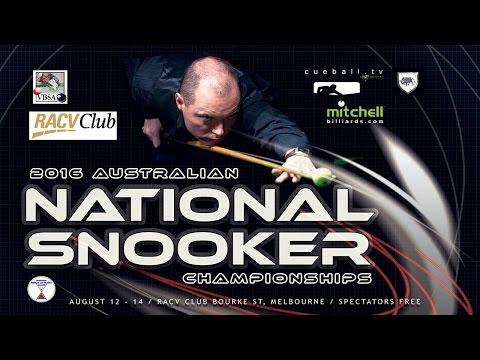 James Mifsud v Vinnie Calabrese | FINAL | Australian National Snooker Championship 2016