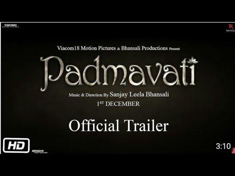 Padmavati Official Trailer | Sanjay Leela Bhansali