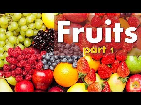 ศัพท์ภาษาอังกฤษ ผลไม้ (Fruits)