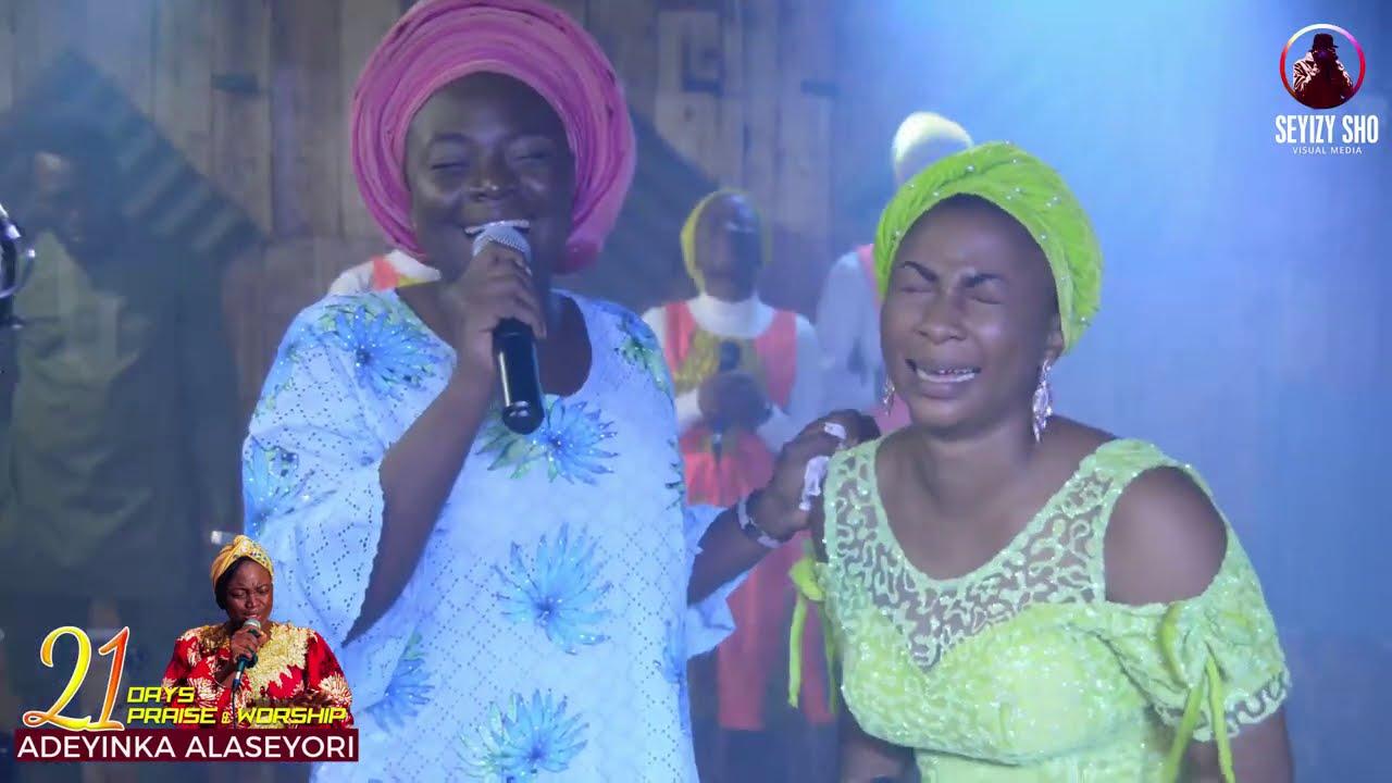 Download Adeyinka Alaseyori ft  Shola Sax, Apekeola (Day 11 of 21 Days Online Praise and Worship)