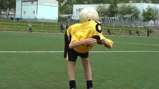 Футбольный фристайл начинающего1. Football freestyle1.