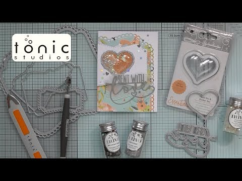 Sent With Love Tonic Memory Book Dies :D