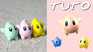 TUTO FIMO | Luma (de Mario Galaxy)