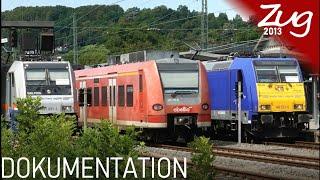 Bunte Züge im Ländle | DOKU | Ersatzverkehr der WFL und TRI zwischen Tübingen und Stuttgart