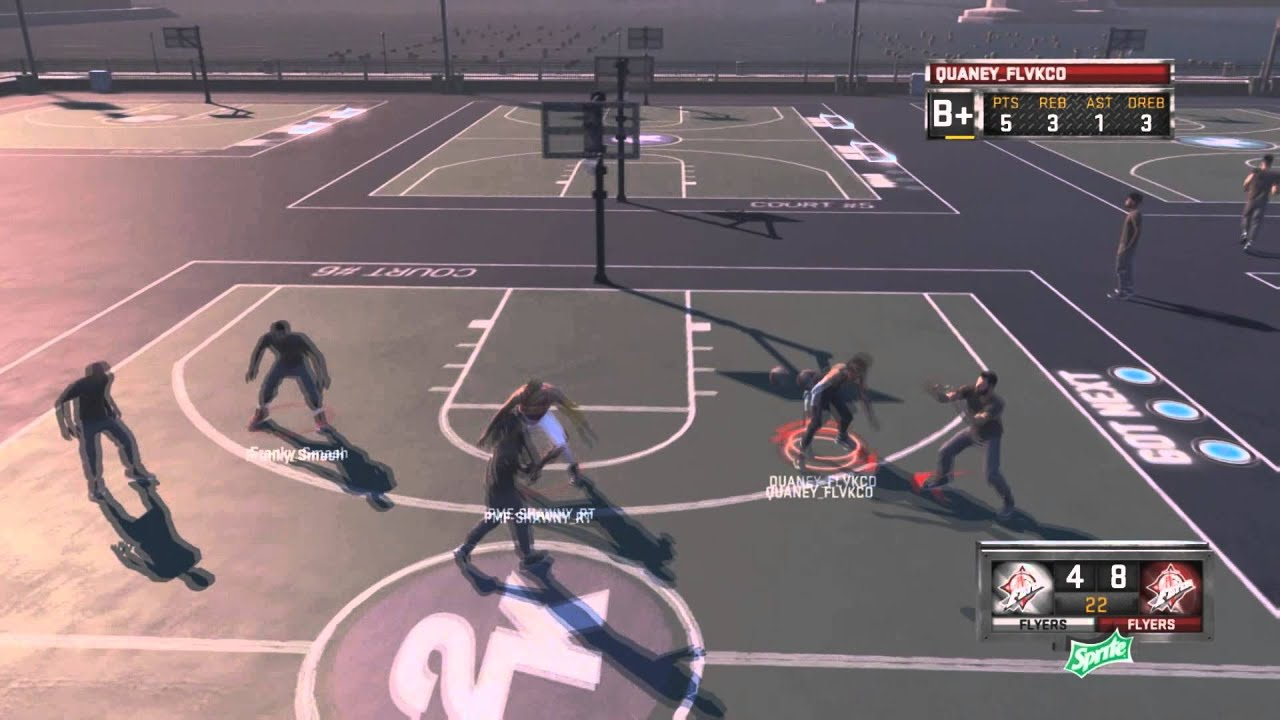 Nba 2k15 Town Flyers 3v3 Mypark Gameplay
